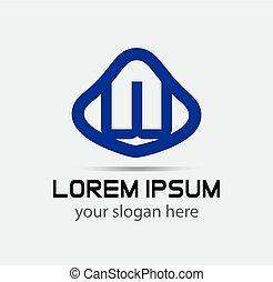 ロゴ, デザイン, w, 手紙