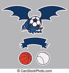 ロゴ, ドラゴン