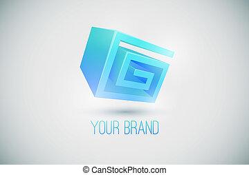 ロゴ, ブランド, あなたの