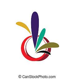 ロゴ, ベクトル, イラスト