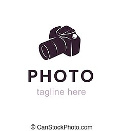 ロゴ, ベクトル, カメラマン
