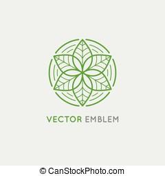 ロゴ, ベクトル, デザイン, テンプレート