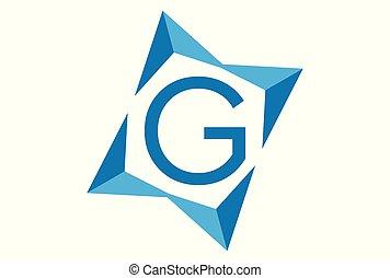 ロゴ, ベクトル, 手紙g