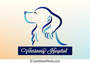 ロゴ, ベクトル, 犬