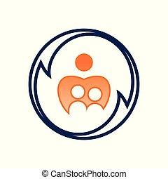 ロゴ, 人々