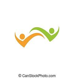 ロゴ, 共同体