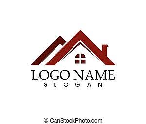ロゴ, 実質, ベクトル, 財産