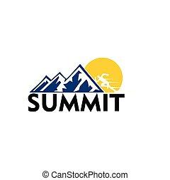 ロゴ, 山の 上昇