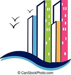 ロゴ, 建物, 現代