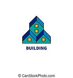 ロゴ, 建設