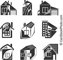 ロゴ, 形態, 家