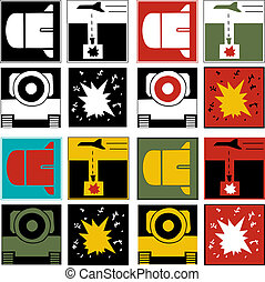 ロゴ, 戦争