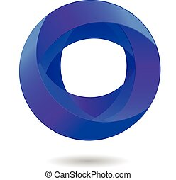 ロゴ, 抽象的なデザイン, ビジネス