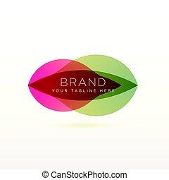 ロゴ, 抽象的なデザイン, ブランド, あなたの