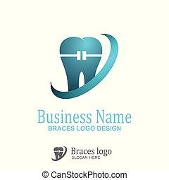 ロゴ, 支柱, design.