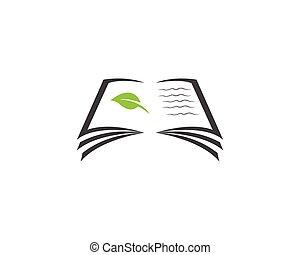 ロゴ, 教育, テンプレート