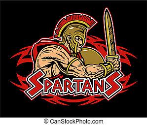 ロゴ, 種族, spartan