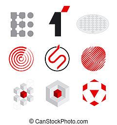 ロゴ, 要素