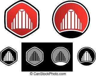 ロゴ, 財産, 実質, 家