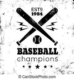 ロゴ, 野球