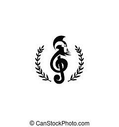 ロゴ, 音楽, ローマ人, 調子