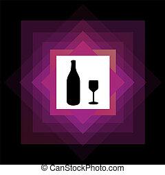 ロゴ, 飲みなさい, アルコール中毒患者