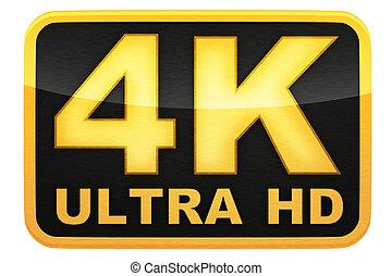 ロゴ, 4k, hd, ultra