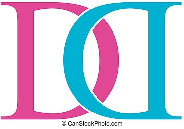 ロゴ, d