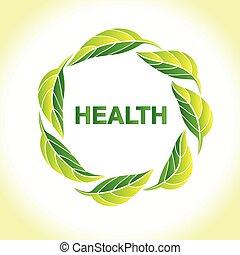 ロゴ, leafs, 自然, ベクトル, デザイン, アイコン, 生態学的