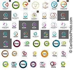 ロゴ, mega, コレクション