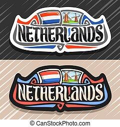 ロゴ, netherlands, ベクトル
