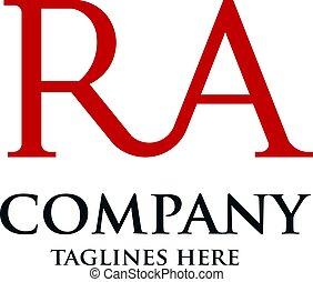 ロゴ, ra, 手紙, 創造的