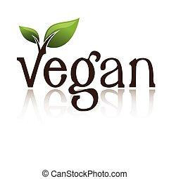 ロゴ, vegan