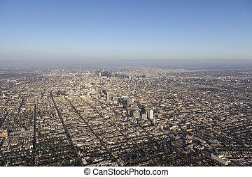 ロサンゼルス, スプロール, 航空写真
