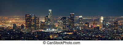 ロサンゼルス, 夜で