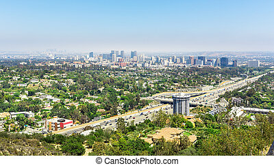 ロサンゼルス, 都市, 風景