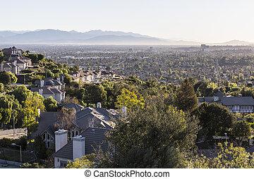 ロサンゼルス, san, 谷, フェルナンド