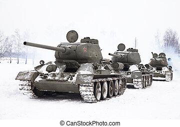 ロシア人, タンク, t34