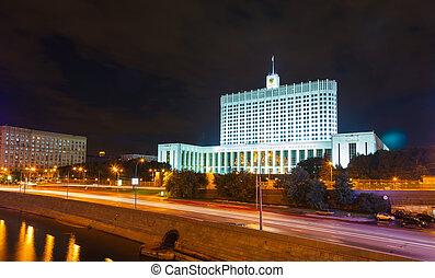 ロシア人, 家, 白, 政府