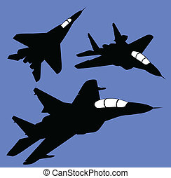 ロシア人, 航空機