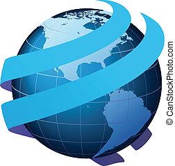 ロジスティクス, ビジネス コミュニケーション, 世界的である, -, コミュニケーション