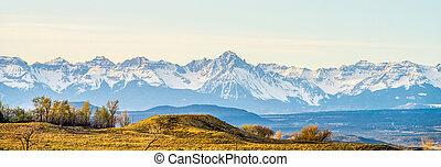 ロッキーズ, colorado, 山麓の丘