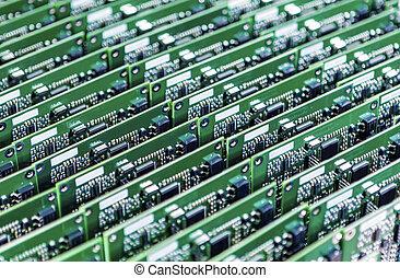 ロット, の, プリント回路, 板, ∥で∥, 増した, そして, はんだ付けされる, componentry,...
