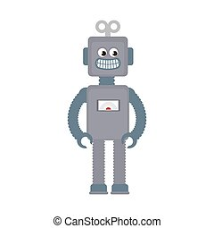 ロボット, おもちゃ, 子供