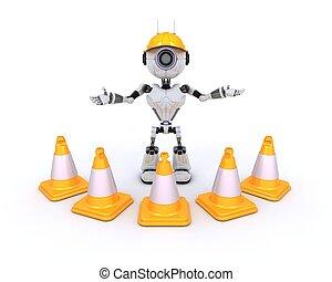 ロボット, ∥において∥, 建築現場