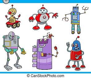 ロボット, 漫画, ∥あるいは∥, droids, 特徴, セット