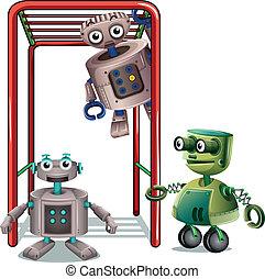 ロボット, 遊び, 3