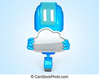 ロボット, 雲