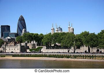 ロンドン の タワー, スカイライン