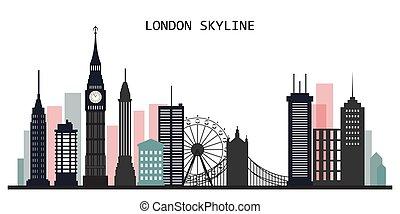 ロンドン, スカイライン